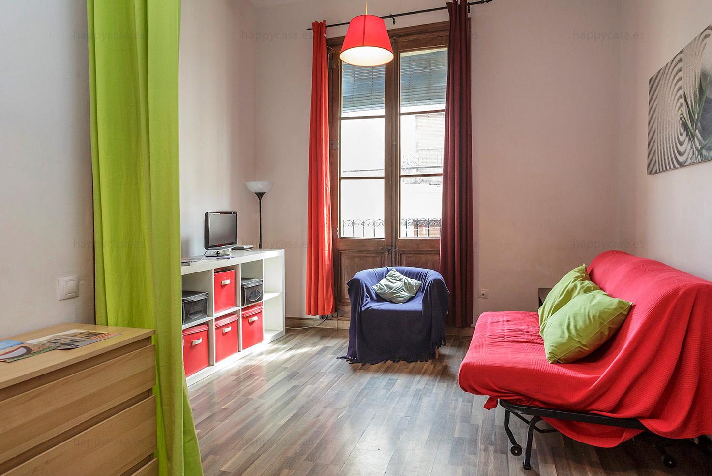 Alquiler Apartamento Estudiantes Poble Sec BarcelonaLocation Appartement à  Barcelone Poble SecStudent Flat To Rent Barcelona Poble Sec | Happycasa