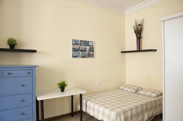Habitación piso equipado centro de Barcelona cerca Plaza Cataluña