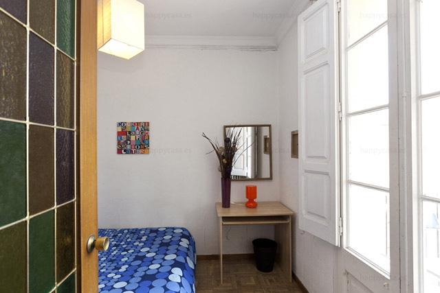 Habitación en alquiler Barcelona Eixample Happycasa