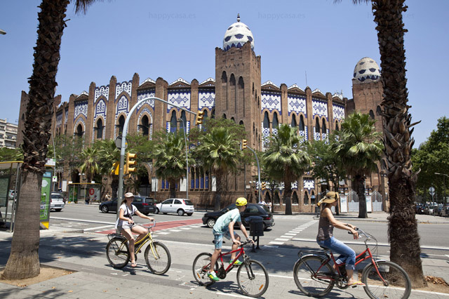 Piso cerca de las Arenas Monumental Calle Marina Barcelona