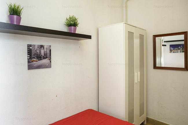 Habitación en apartamento compartido Barcelona Erasmus