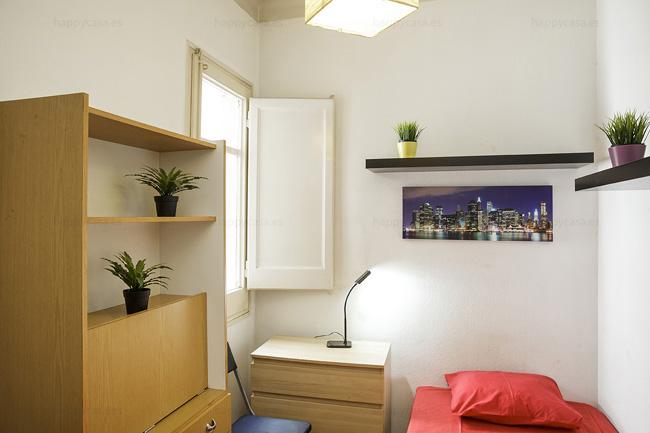 Alquilar piso en Barcelona con cuarta individual Gràcia