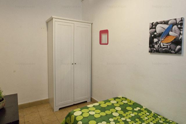 Habitación en alquiler Barcelona cama individual con internet