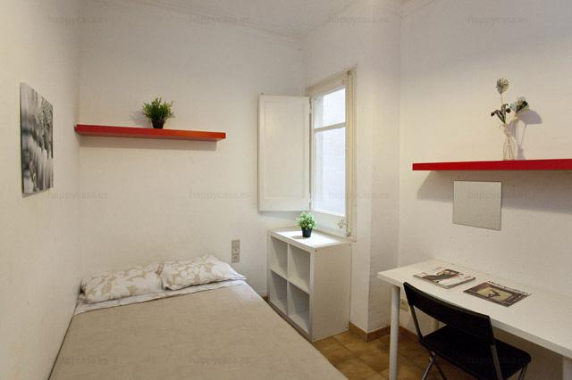 chambre pour étudiants pas chères avec internet Barcelone