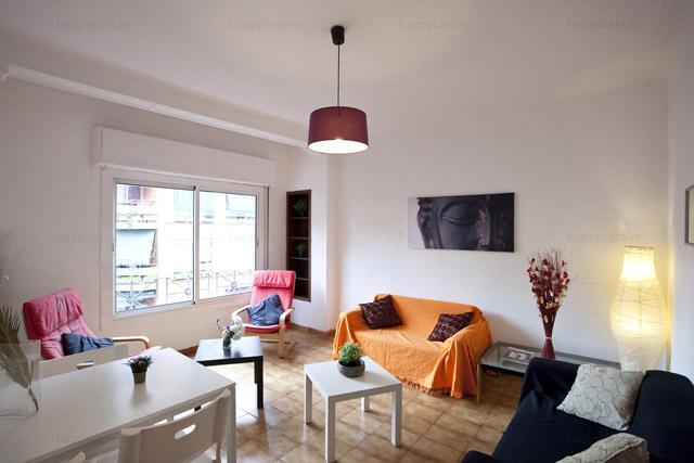Alquilar habitación en Barcelona piso soleado